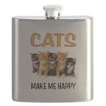 HAPPY CATS Flask