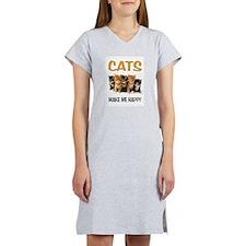 HAPPY CATS Women's Nightshirt