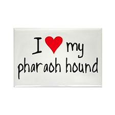 I LOVE MY Pharaoh Hound Rectangle Magnet (10 pack)