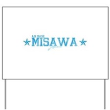 AB Misawa Japan Yard Sign