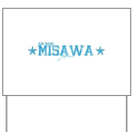 AB Misawa Japan Yard Sign