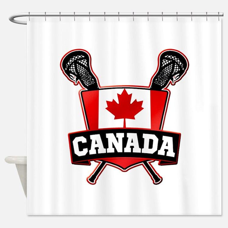 Canada lacrosse bathroom accessories decor cafepress for Bathroom decor canada