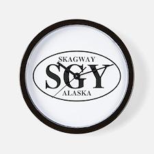 Skagway Wall Clock