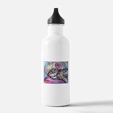 Cat! Beautiful animal art! Water Bottle