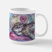 Cat! Beautiful animal art! Mugs