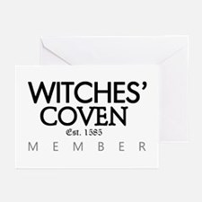 'Witches' Coven' Greeting Cards (Pk of 10)