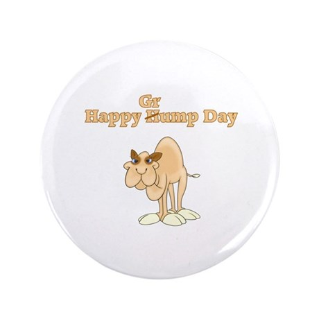 "Wednesday Camel 3.5"" Button (100 pack)"