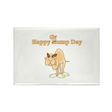 Wednesday Camel Rectangle Magnet