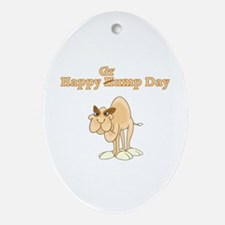 Wednesday Camel Ornament (Oval)