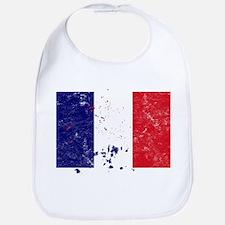 French Flag (Punk) Bib