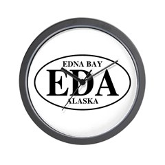 Edna Bay Wall Clock