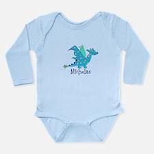 Cute Blue Dragon Body Suit