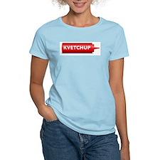 Kvetchup Women's Pink T-Shirt