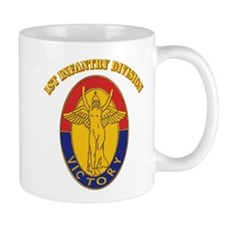 DUI - 1st Infantry Division with Text Mug