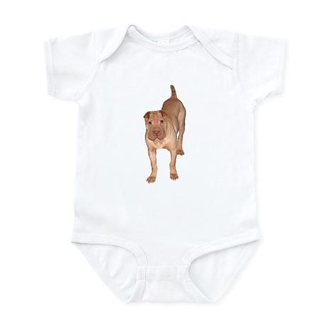 Chinese Shar Pei Art Infant Bodysuit