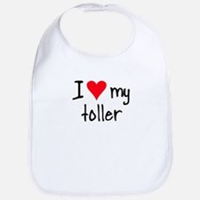 I LOVE MY Toller Bib