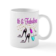 CELEBRATE 16 Small Mug