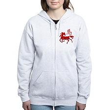 Year Of The Horse Zip Hoodie