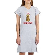 Naughty Goldendoodle Women's Nightshirt