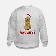 Naughty Goldendoodle Sweatshirt