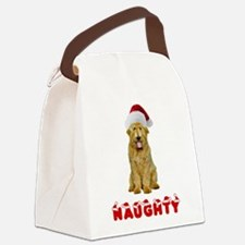 Naughty Goldendoodle Canvas Lunch Bag