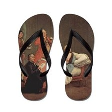 The Morning Chocolate Flip Flops