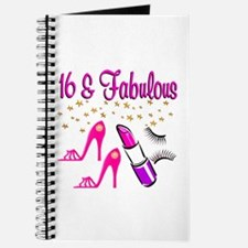 FABULOUS 16TH Journal