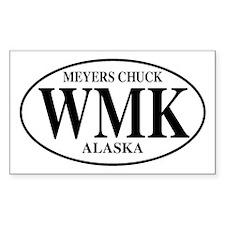Meyers Chuck Rectangle Decal