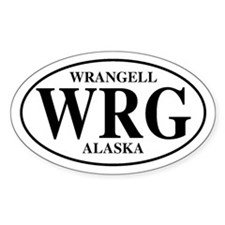Wrangell Oval Decal