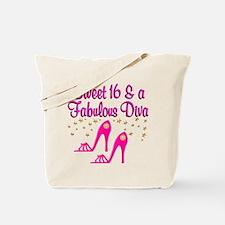 16 YR OLD DIVA Tote Bag