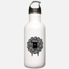 Yarny Sheep for Lights Water Bottle