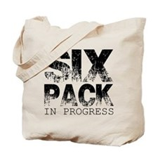 Six Pack in Progress Tote Bag