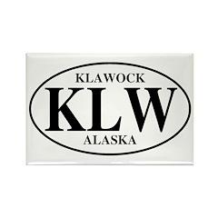Klawock Rectangle Magnet