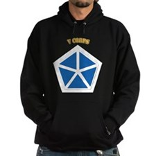 SSI - V Corps With Text Hoodie