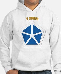 SSI - V Corps With Text Jumper Hoody