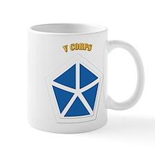 SSI - V Corps With Text Mug