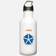 SSI - V Corps With Text Water Bottle