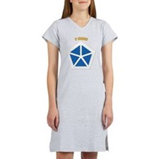 SSI - V Corps With Text Women's Nightshirt