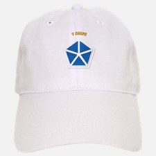 SSI - V Corps With Text Baseball Baseball Cap