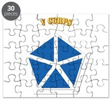 SSI - V Corps With Text Puzzle