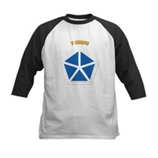 SSI - V Corps With Text Tee