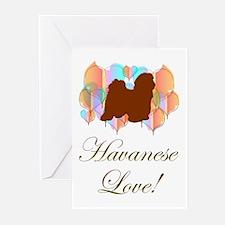 Havanese Love! Greeting Cards (Pk of 10)