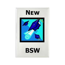 New BSW Rectangle Magnet