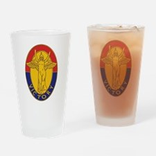 DUI - 1st Infantry Division Drinking Glass