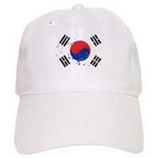 South Korean Flag (Punk) Baseball Cap