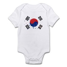 South Korean Flag (Punk) Onesie