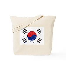 South Korean Flag (Punk) Tote Bag