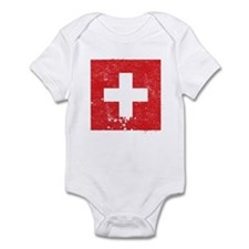 Swiss Flag (Punk) Infant Bodysuit