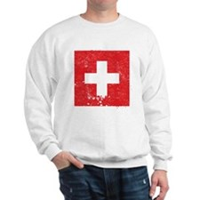 Swiss Flag (Punk) Sweatshirt