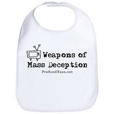 TV Mass Deception Bib